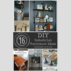 Industrial Furniture 16 Diy Metal Home Decor Ideas