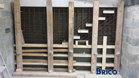 escalier suspendu acier coffrage photos