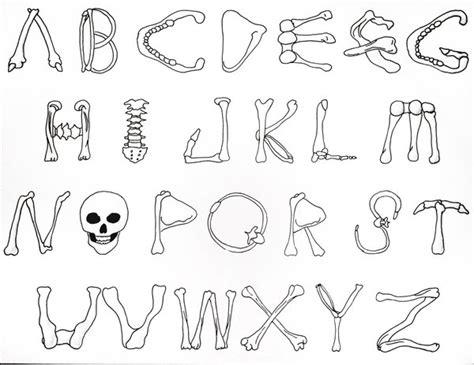 Bone Alphabet By Tidusvssora On Deviantart