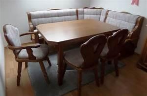 Eckbank Mit Tisch Und Stühle : esszimmer w ssner eckbank tisch 3 st hle sideboard vitrine eckschrank sehr guter zustand in ~ Markanthonyermac.com Haus und Dekorationen