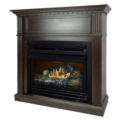 propane gas fireplace pleasant hearth 27 500 btu 42 in convertible ventless