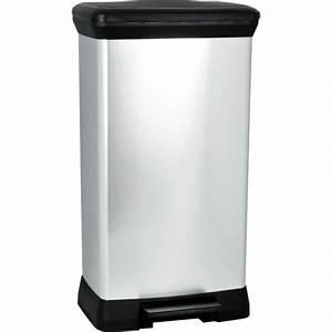 Poubelle Cuisine Pas Cher : poubelle p dale achat vente poubelle p dale pas ~ Dailycaller-alerts.com Idées de Décoration