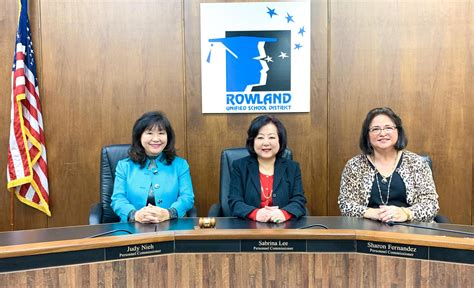 home personnel commission rowland unified school district