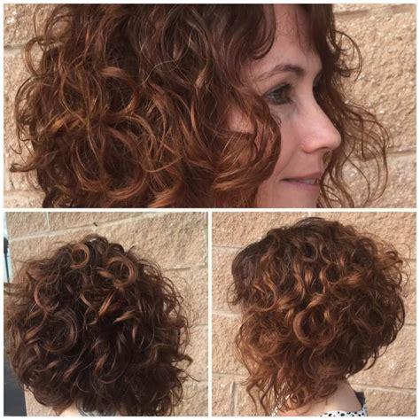 hairstyles  short curly hair trending