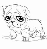 Pug Coloring Sad Face Pages Puppy Cute Drawing Little Colouring Print Bulldog Animal Dog Outline Printable Drawings Cartoon Sheets Maybe sketch template