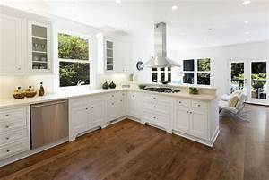 Hardwood Floors in the Kitchen (Pros and Cons) - Designing