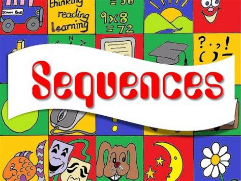 number sequences teaching resources