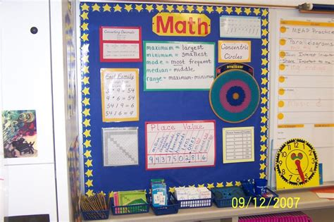 72 Best Images About Math Bulletin Boards On Pinterest