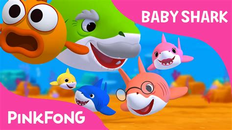 baby shark sing  dance animal songs pinkfong