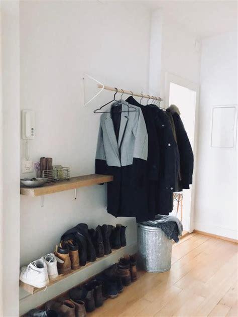 die besten  offene garderobe ideen auf pinterest