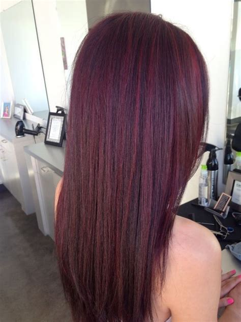 mahogany violet hair color 10 mahogany hair color ideas ombre balayage hairstyles