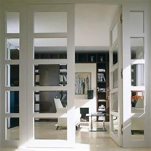 Verrière Intérieure Ikea : verri re int rieure en bois pour un espace cosy ~ Melissatoandfro.com Idées de Décoration