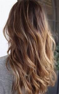 Ombré Hair Chatain : ombr hair chatain clair blond ~ Dallasstarsshop.com Idées de Décoration