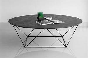 Table Basse Jardin Metal : table basse en m tal et b ton cir ~ Teatrodelosmanantiales.com Idées de Décoration
