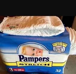Adult Baby Pampers Vintage Diapers