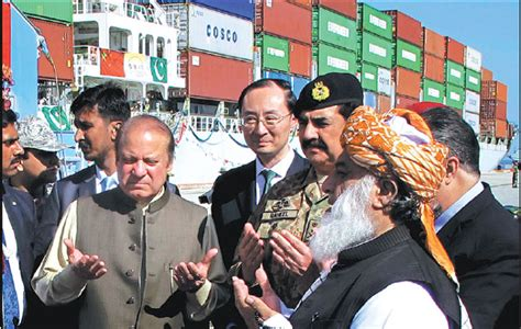 pakistan s prime minister nawaz sharif left front prays at