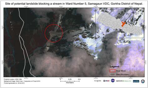 NASA/USAID SERVIR Initiative Responds to Earthquake in ...