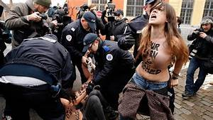 'Victory of all feminists': FEMEN wins right to topless ...