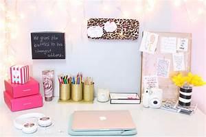 DIY Desk Decor Easy & Inexpensive The Classy It Girl
