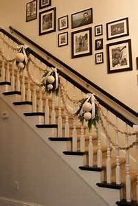 1000 images about Christmas Stair Decor on Pinterest