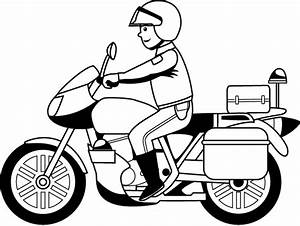 police motorcycle clipart - Jaxstorm.realverse.us