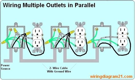 How Wire Multiple Outlet Parallel Electrical Wiring