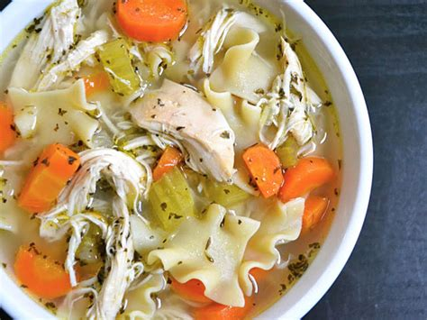 chicken soup recipe from scratch homemade chicken noodle soup budget bytes