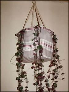 Suspension Pour Plante : suspension pour plante verte chiffons papillons ~ Premium-room.com Idées de Décoration
