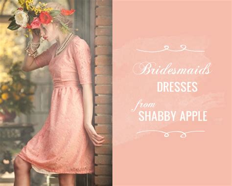 shabby apple wedding bridesmaids dresses from shabby apple a giveaway green wedding shoes wedding blog wedding