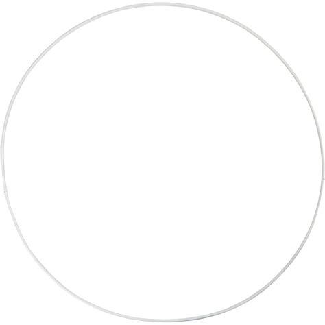 metallring 30 cm metallring cirkel dia 30 cm tjocklek 3 mm vit 5st diverse metallartiklar