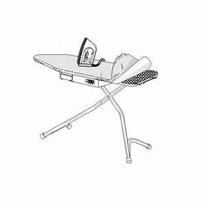 Table A Repasser Sans Fer : table repasser gris aluminium sans le fer et les deux housses de protection pour table ~ Melissatoandfro.com Idées de Décoration