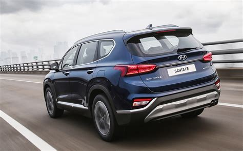 2019 Hyundai Santa Fe Launch by 2019 Hyundai Santa Fe Unveiled Gets New 8 Spd Auto