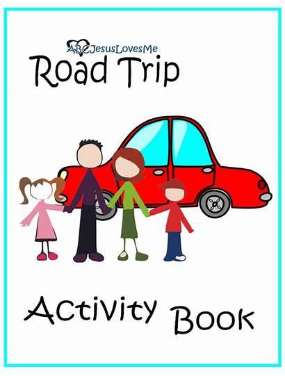 Road Trip Activity Workbook Thanksgiving Travel Happy