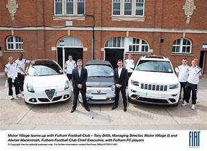 FIAT GROUP FLAGSHIP DEALER SIGNED UP BY FULHAM FOOTBALL ...