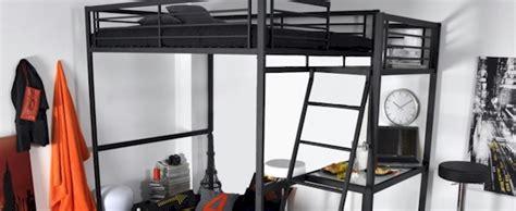 lit mezzanine 2 places avec bureau le lit mezzanine avec bureau c 39 est pratique mag maison