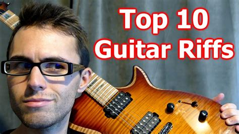 Top 10 Greatest Guitar Riffs... Played Backwards! - YouTube
