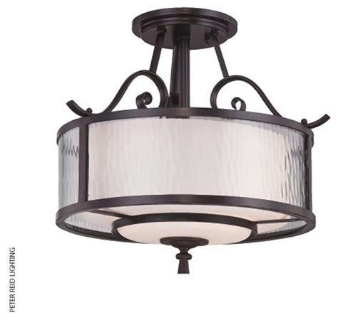 adonis 3 l semi flush ceiling traditional flush