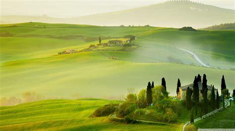 tuscany spring landscape  hd desktop wallpaper