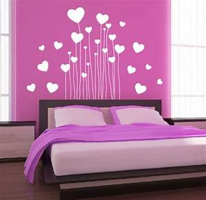 Bilder Für Schlafzimmer Wand : wand tattoo aufkleber herz schlafzimmer dekoration liebe herzen wandtattoo ebay ~ Sanjose-hotels-ca.com Haus und Dekorationen