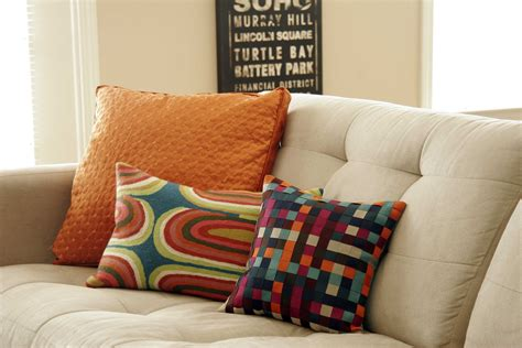 Colorful Sofa Pillows by Inspirations Charming Sofas Accessories Ideas With Smooth