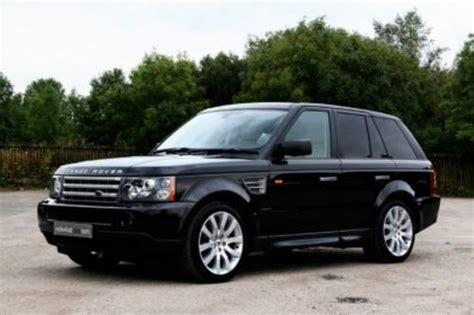 land rover range rover hse sport td v6 photos reviews