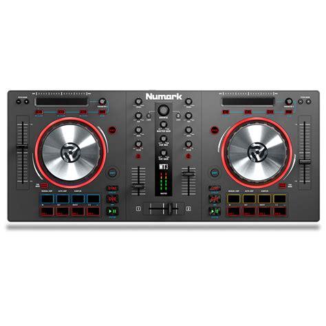 numark dj console numark mixtrack iii dj controller at gear4music