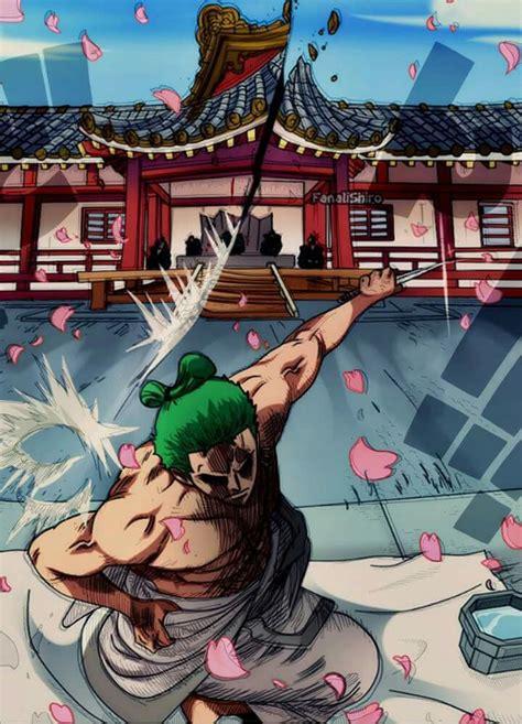 zoro wano sepuku anime zoro luffy