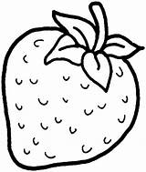 Strawberry Coloring Colouring Pages Drawing Printable Line Fruit Shortcake Strawberries Fruits Drawings Sheets Template Sketch Kindergarten Pyramid Banana Preschoolers Templates sketch template