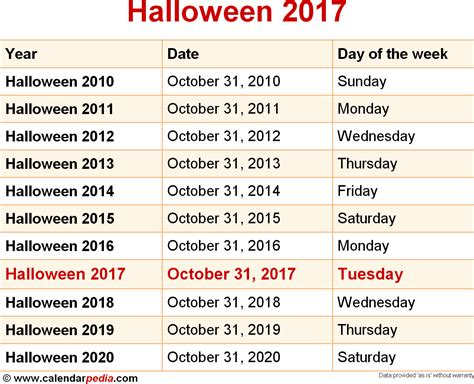 printable halloween calendars   festival collections