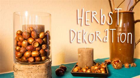 diy herbst dekoration mit eicheln basteln