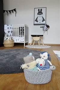 Kinderzimmer Weiß Grau : kinderzimmer in grau und schwarz weiss6 ~ Sanjose-hotels-ca.com Haus und Dekorationen