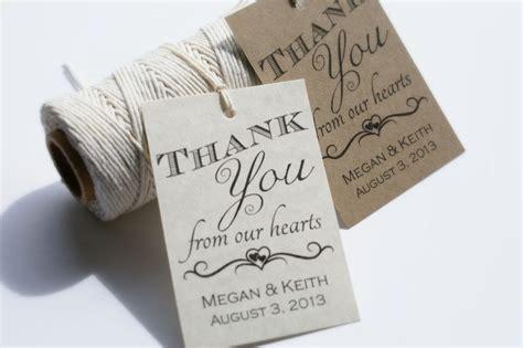 printable wedding favor tags personalized wedding favor
