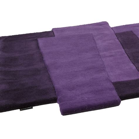 tapis de couloir pebbles mauve angelo 70x250