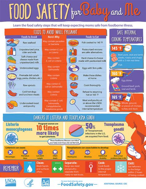 food safety tips  pregnancy eat  mama
